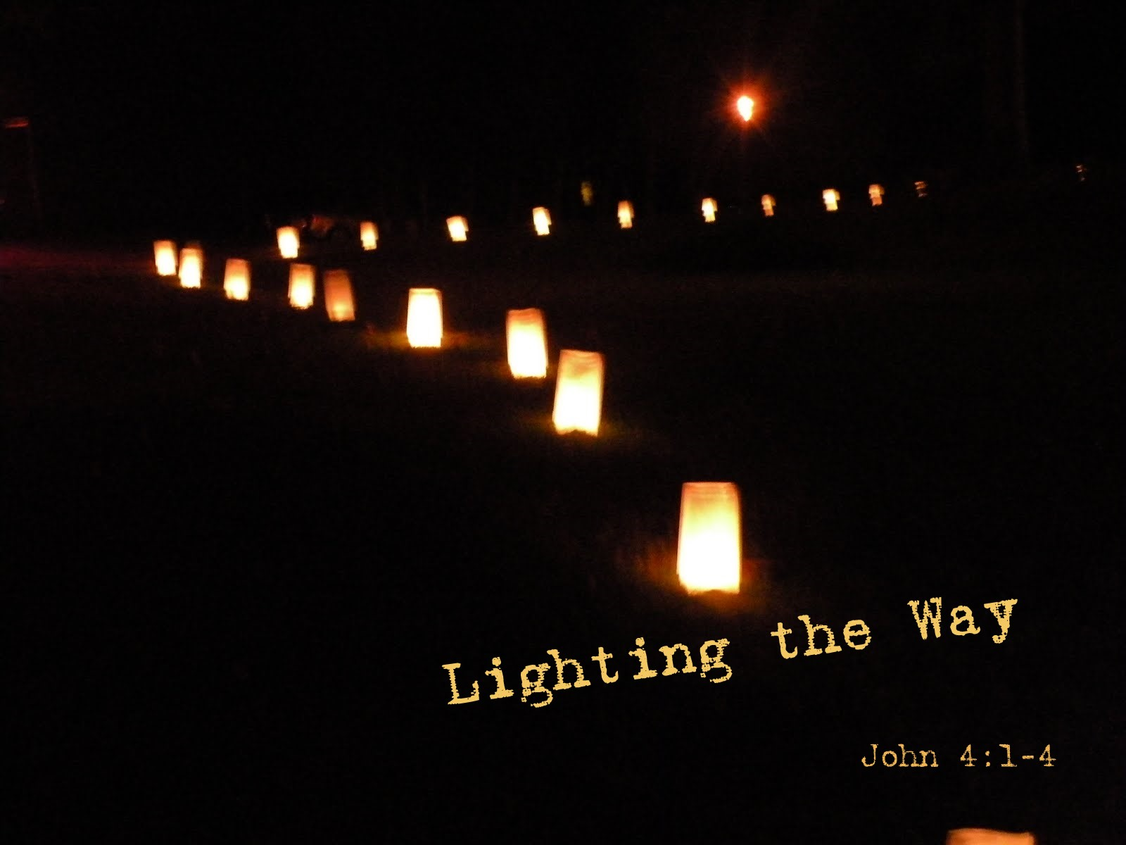 Lighting the way citylight church for Lamp and light ministries