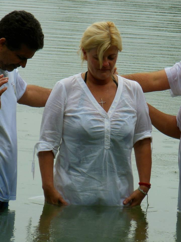 baptism veronika 24.8.2013