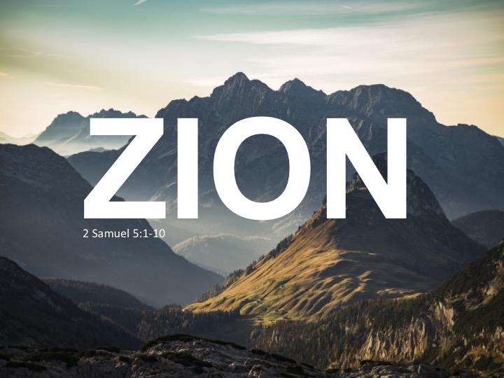 2 Sam 5 Zion